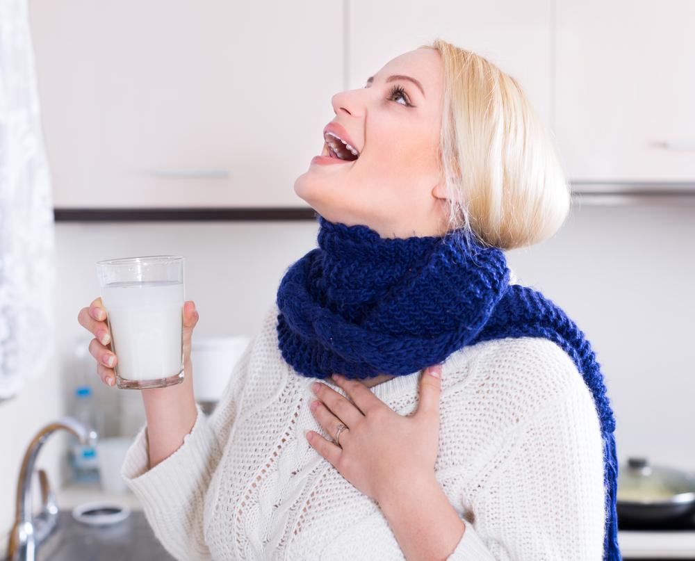 Что можно при беременности от боли в горле