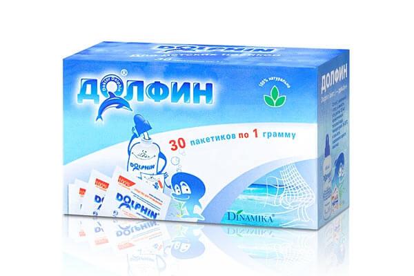 Как промывать нос Долфином: характеристика препарата и особенности процедуры