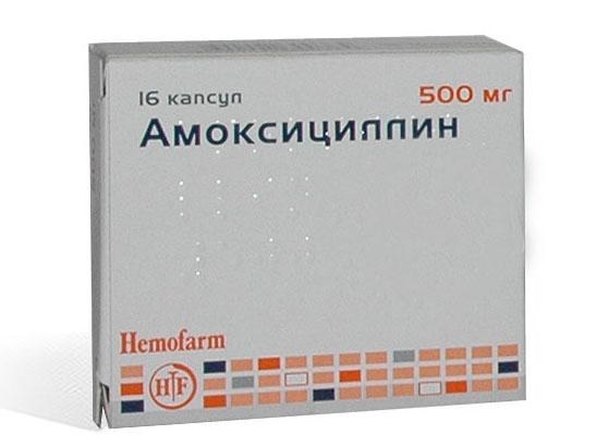 амоксициллин при остром гайморите