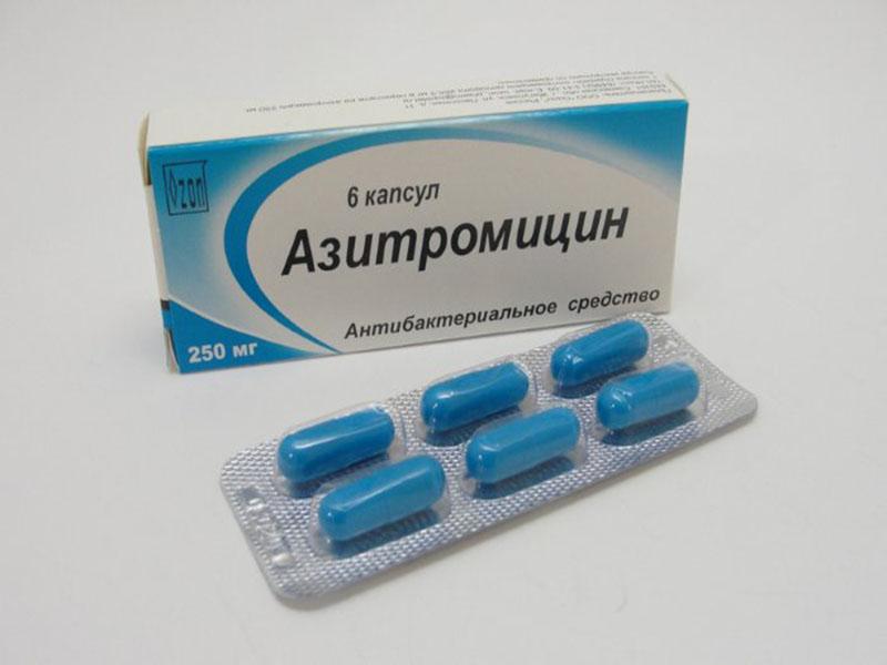 азитромицин или амоксициллин при отите