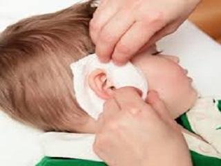 Компресс на ухо фото инструкция
