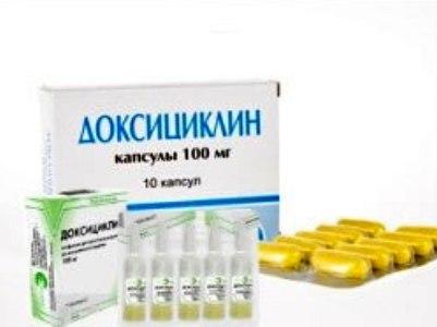 Доксициклин при ангине