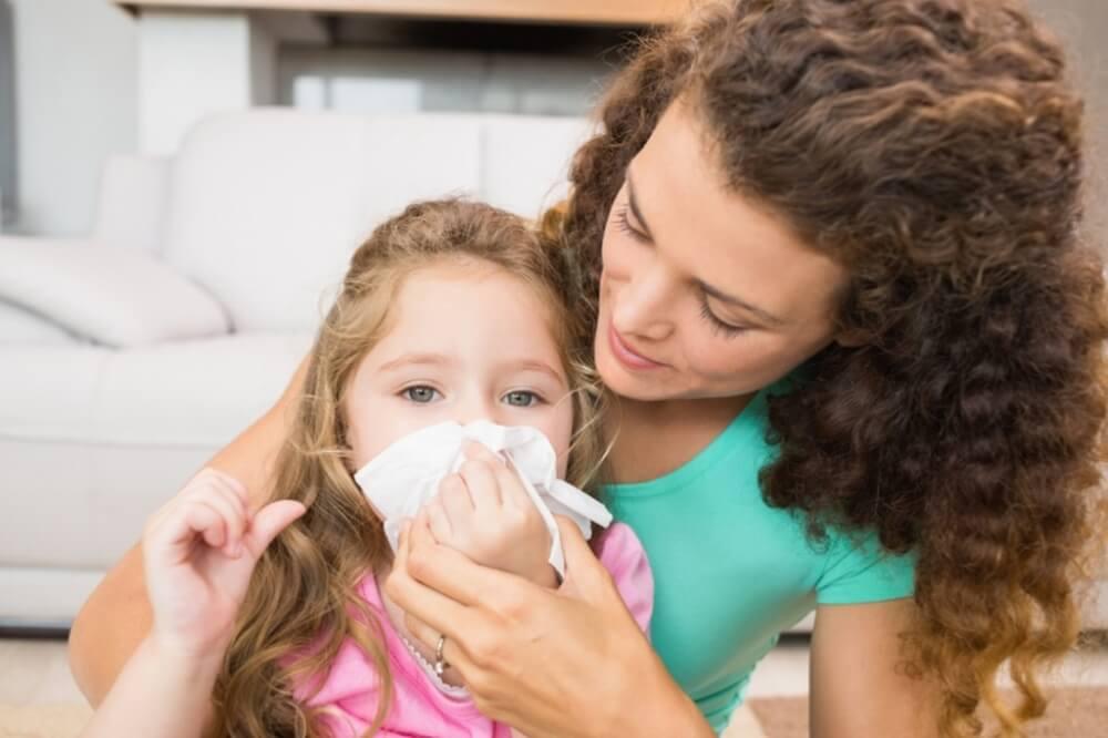 Как избавиться от соплей у ребенка