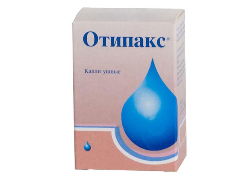 Ушные капли Отипакс - упаковка