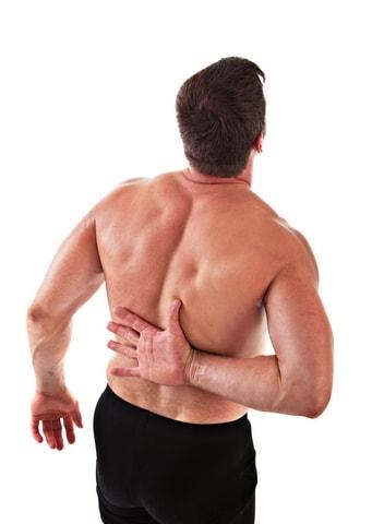 Острая боль в левой подлопаточной области